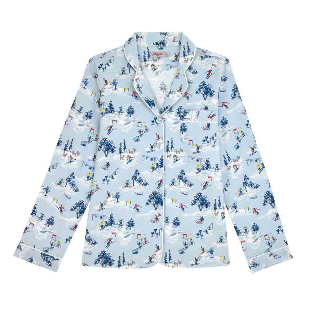 Cath Kidston Snow Scene Brushed Flannel Pyjama Set