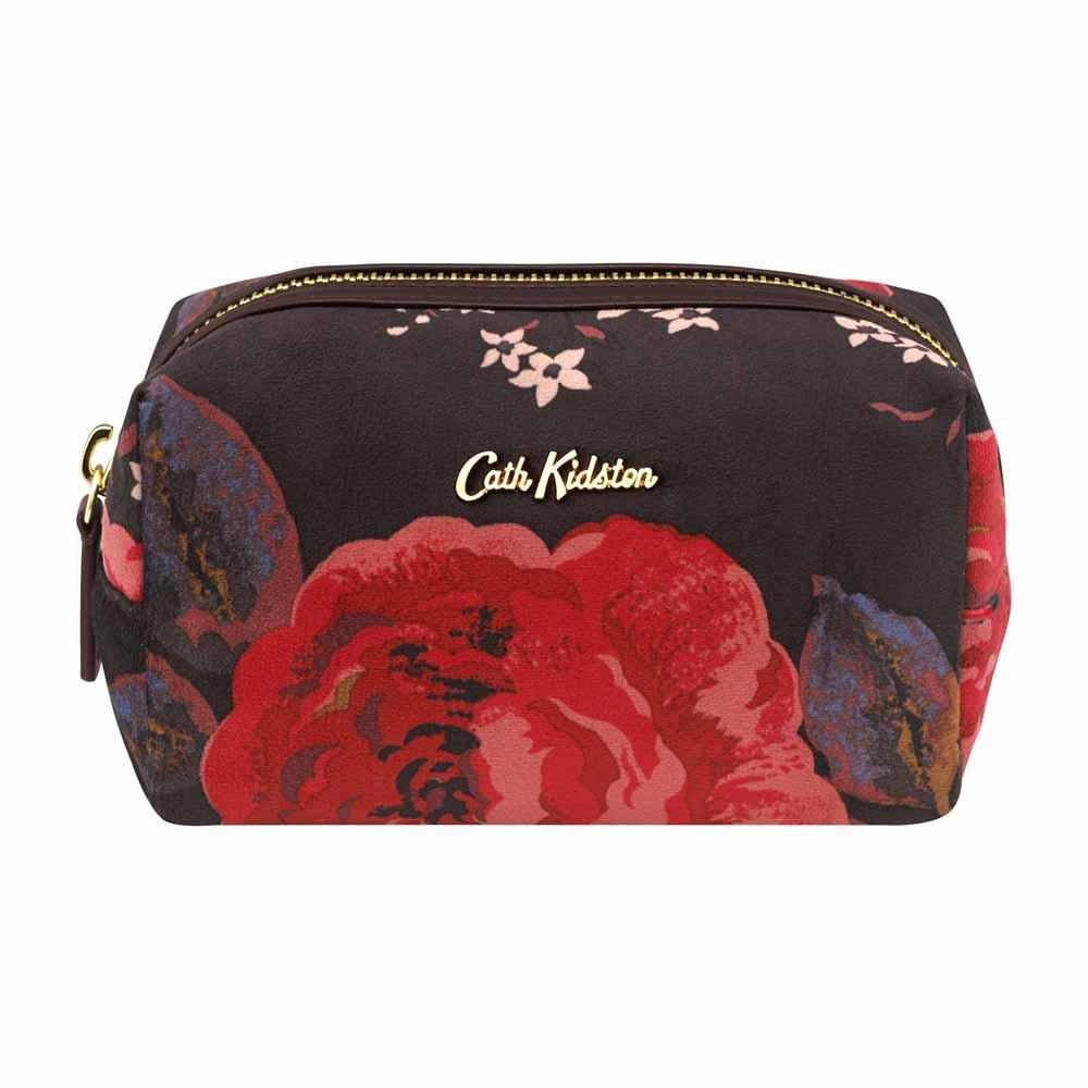 Cath Kidston Jacquard Rose Velvet Make Up Bag