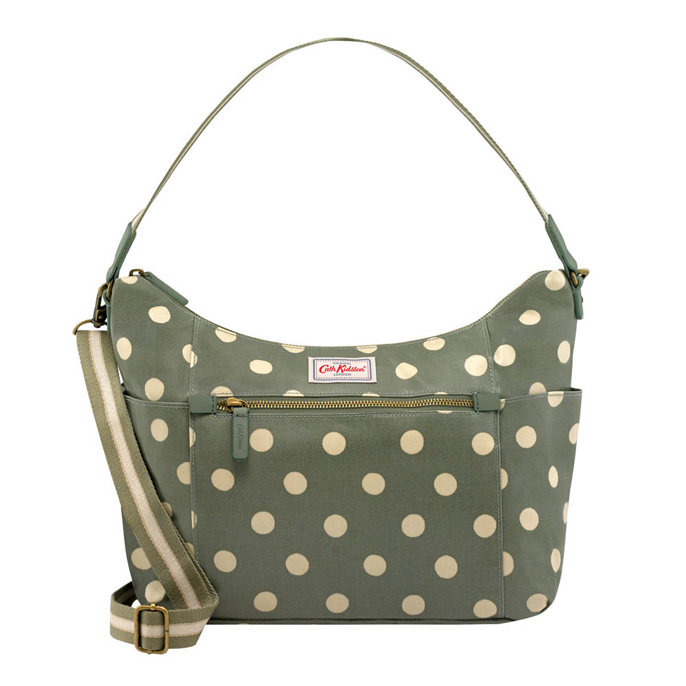 Cath Kidston BUTTON SPOT HEYWOOD SHOULDER BAG