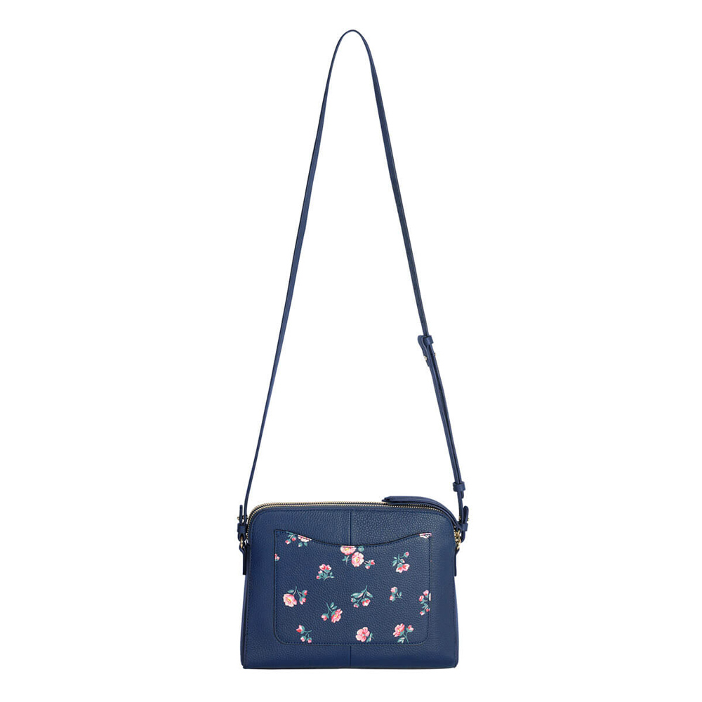CATH KIDSTON PRINTED MALTBY LEATHER CROSS BODY BAG