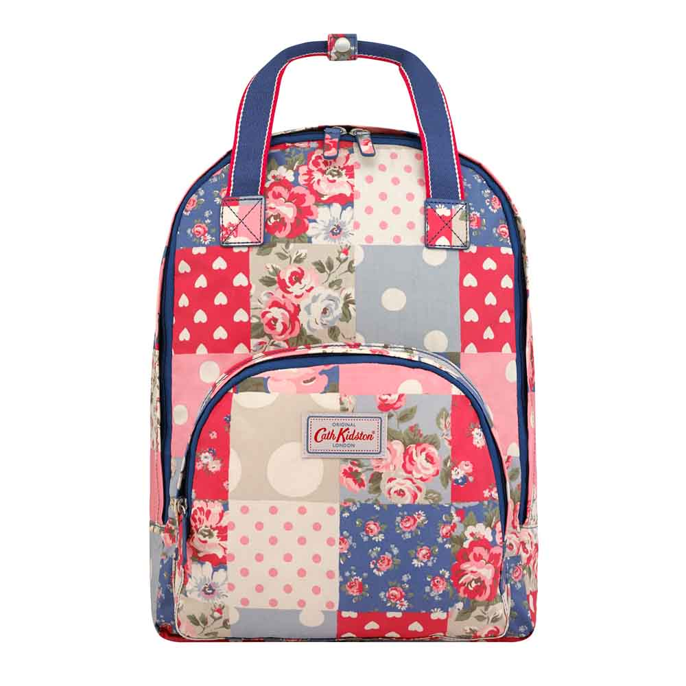 CATH KIDSTON PATCHWORK MULTI POCKET BACKPACK