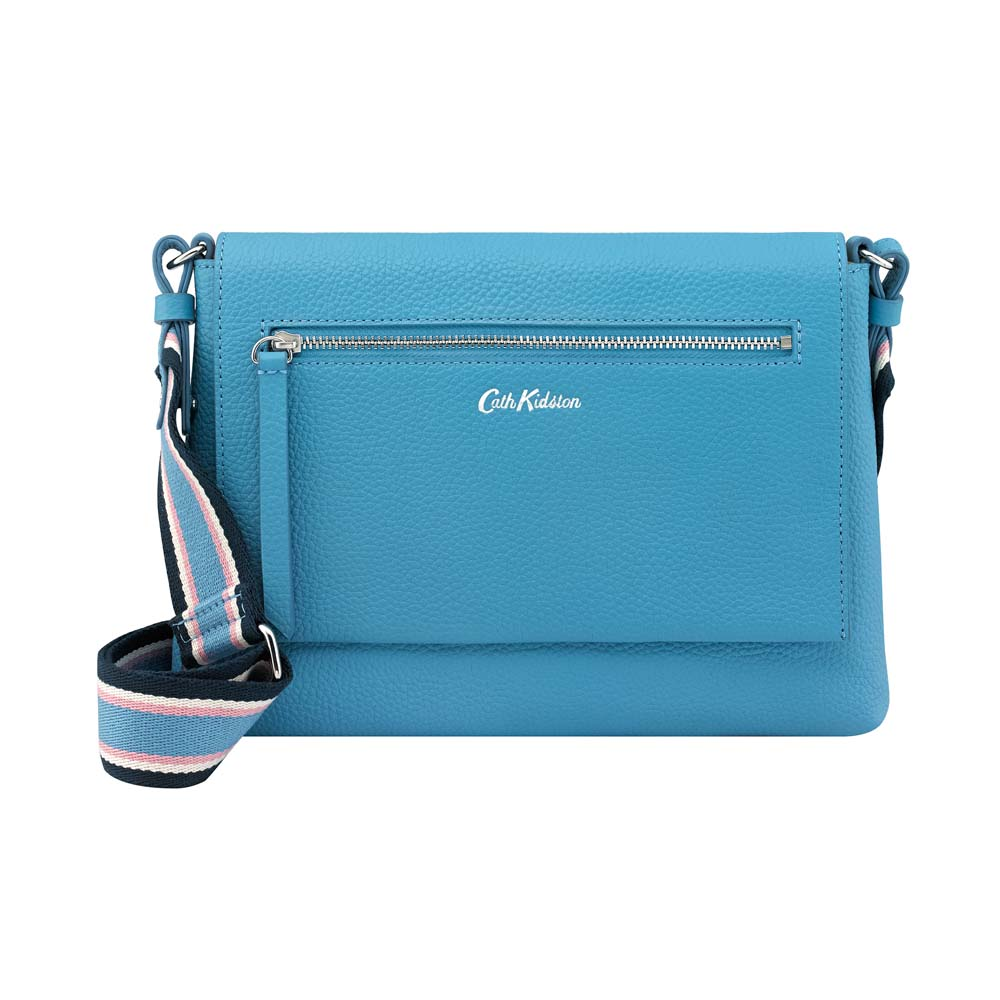 CATH KIDSTON BARTON LEATHER CROSS BODY BAG