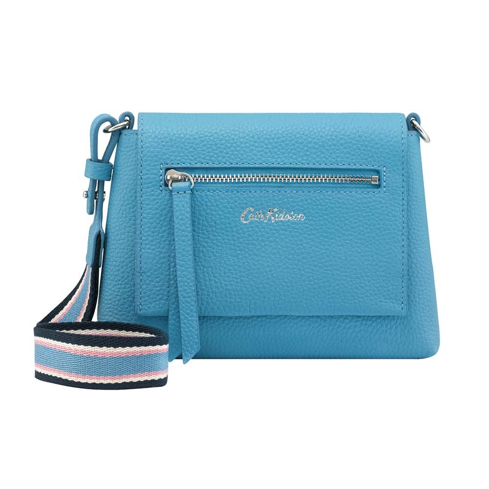 CATH KIDSTON BARTON LEATHER CLUTCH BAG