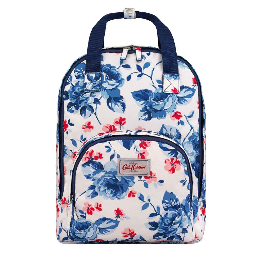 CATH KIDSTON DULWICH ROSE MULTI POCKET BACKPACK