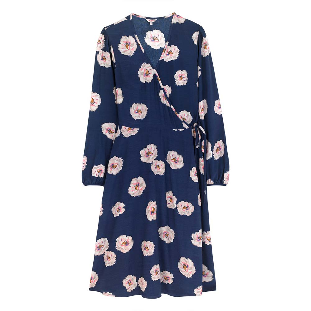 Cath Kidston Wispy Rose Spray Wrap Dress