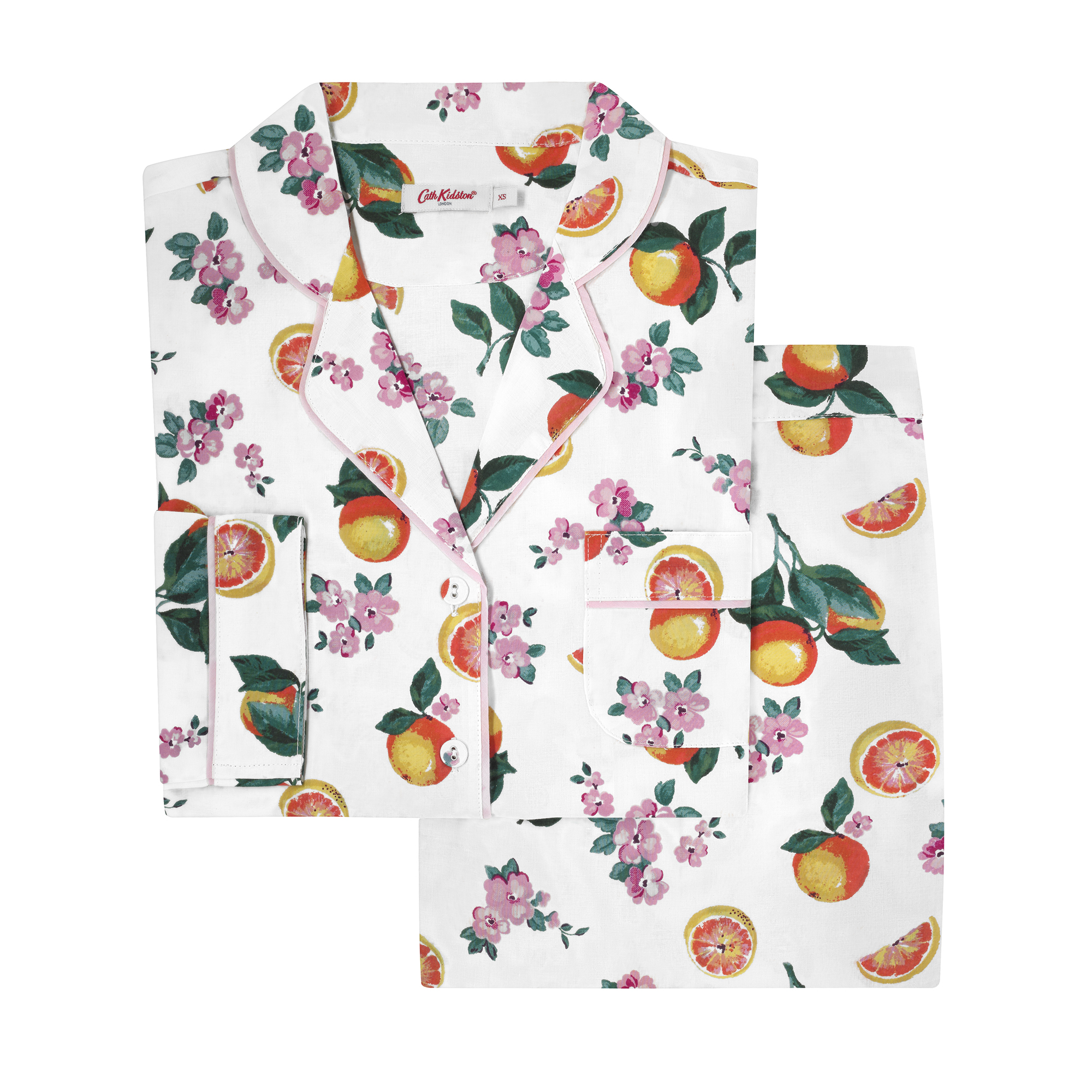 Cath Kidston Grapefruit Bloom Pyjama Set