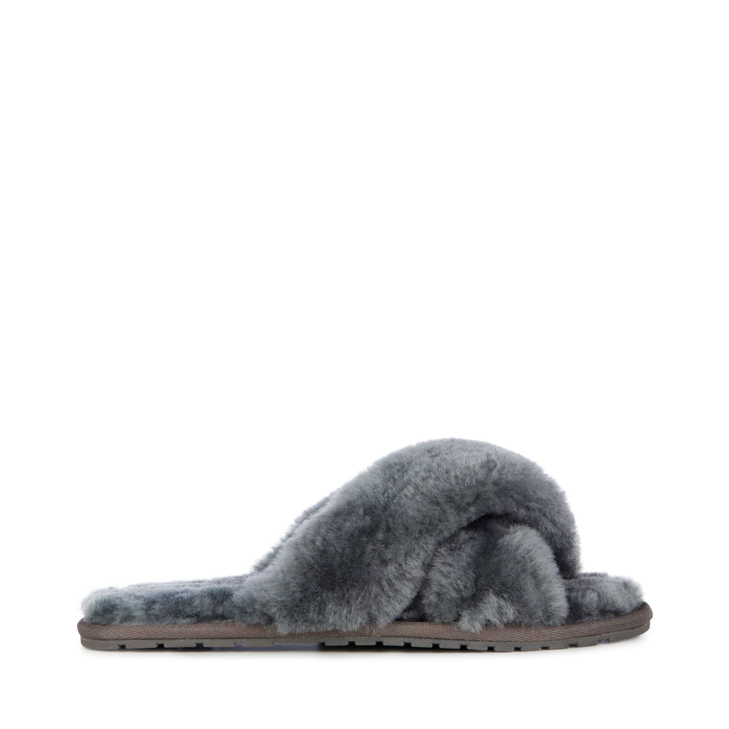 Emu Australia Mayberry Slippers in Charcoal