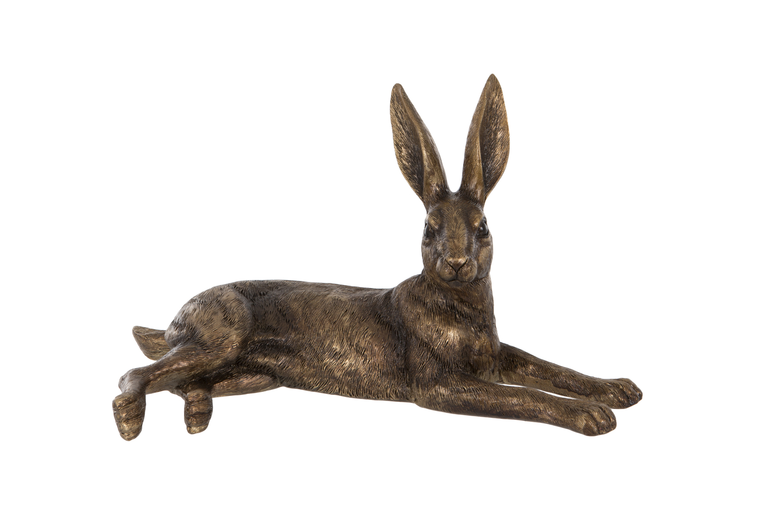 London Ornaments Golden Hare