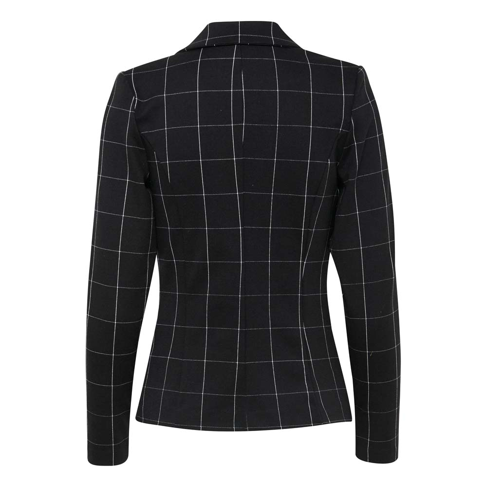 Ichi Kate Checked Blazer