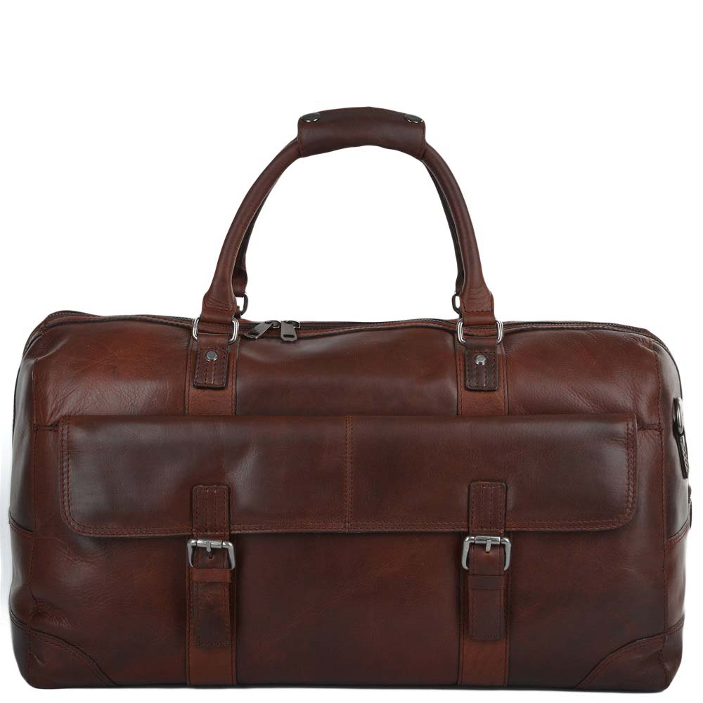 Ashwood Francis Tan Leather Holdall