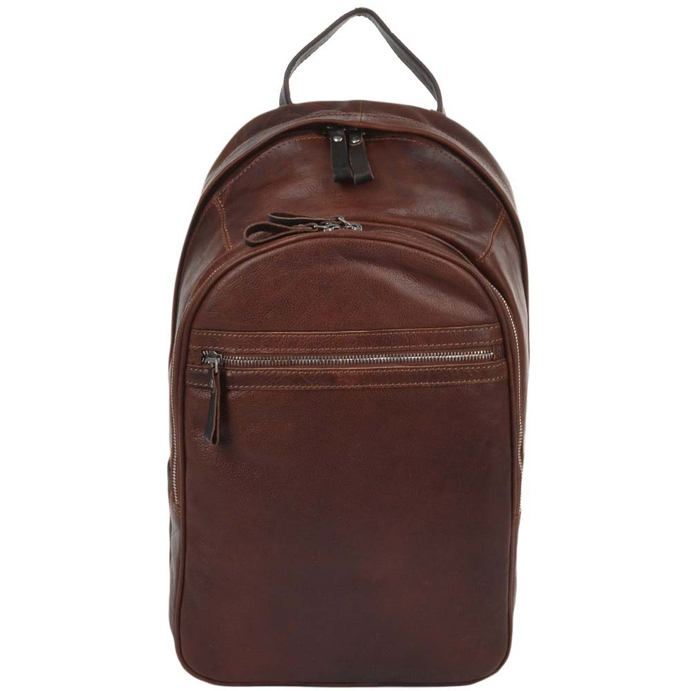 Ashwood 4555 Leather Tan and Brown Rucksack