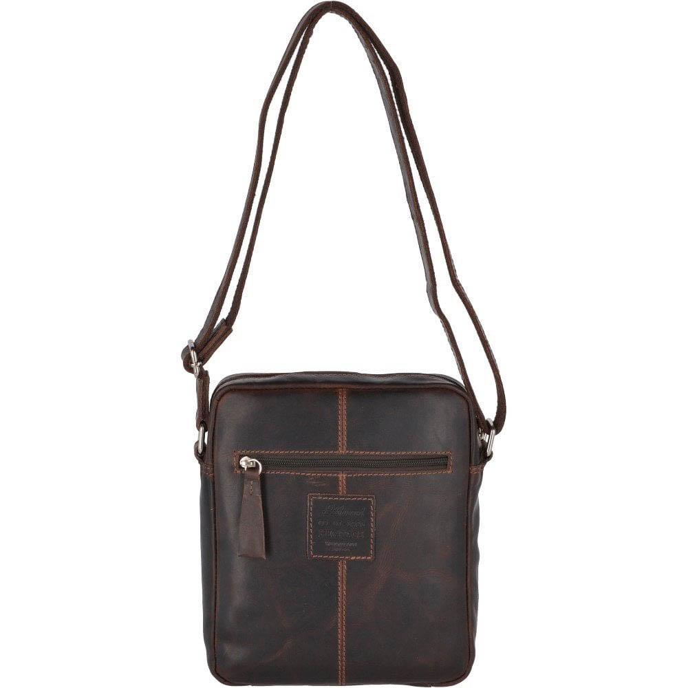 Ashwood 1661 Medium Brown Flight Bag