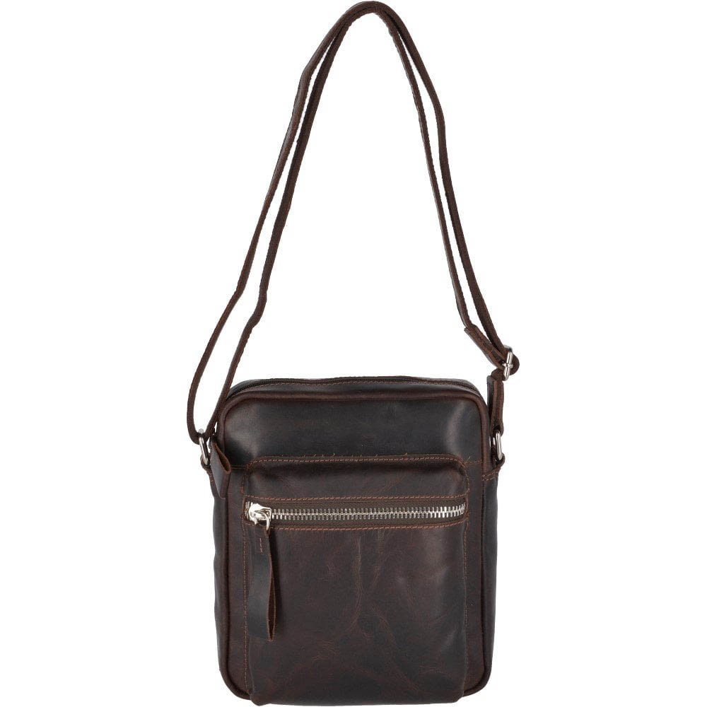 Ashwood 1661 Medium Brown Flight Bag