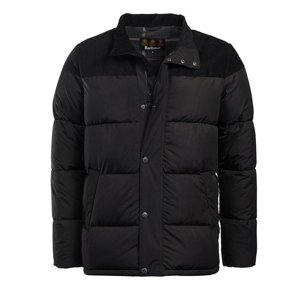 Barbour Spean Black Quilted Jacket