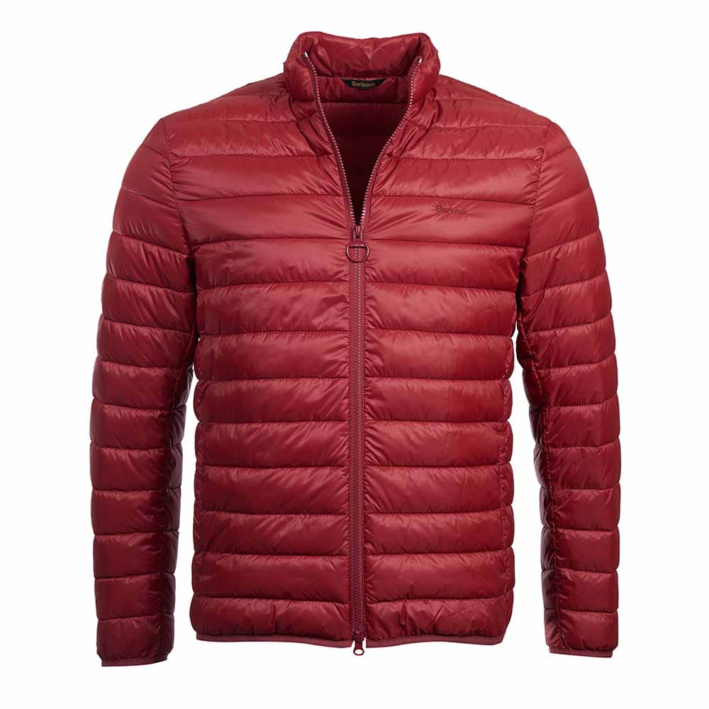 Barbour Penton Red Quilted Jacket