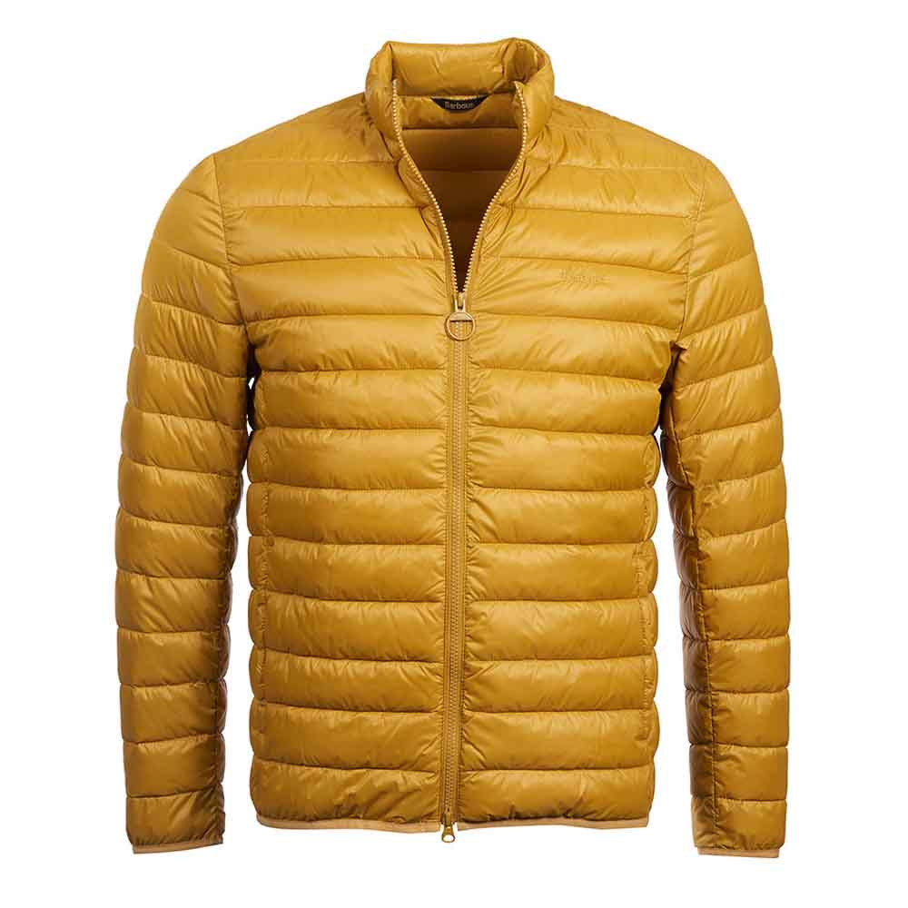 Barbour Penton Yellow Quilted Jacket