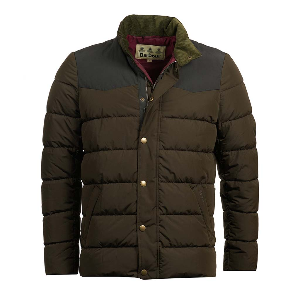 Barbour Stevenson Olive Quilted Jacket