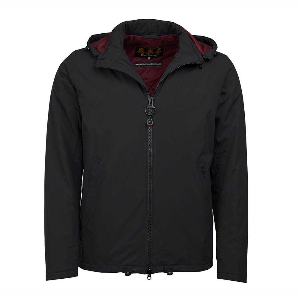 Barbour Whitburn Black Waterproof Jacket