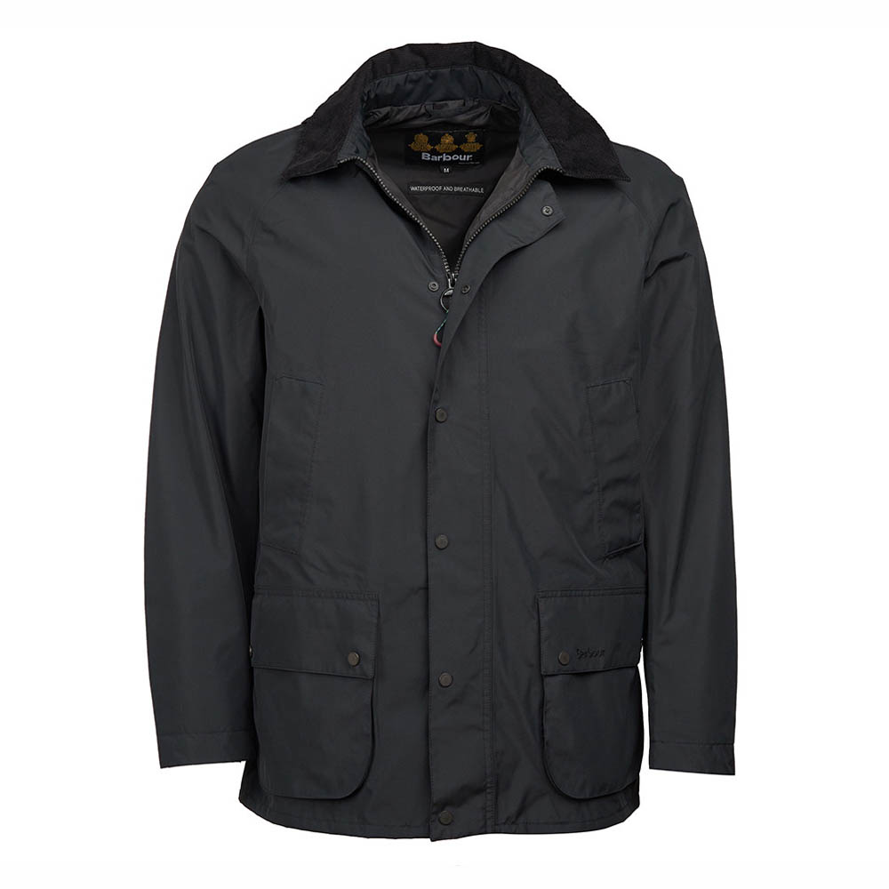 Barbour Ashbrooke Black Waterproof Jacket