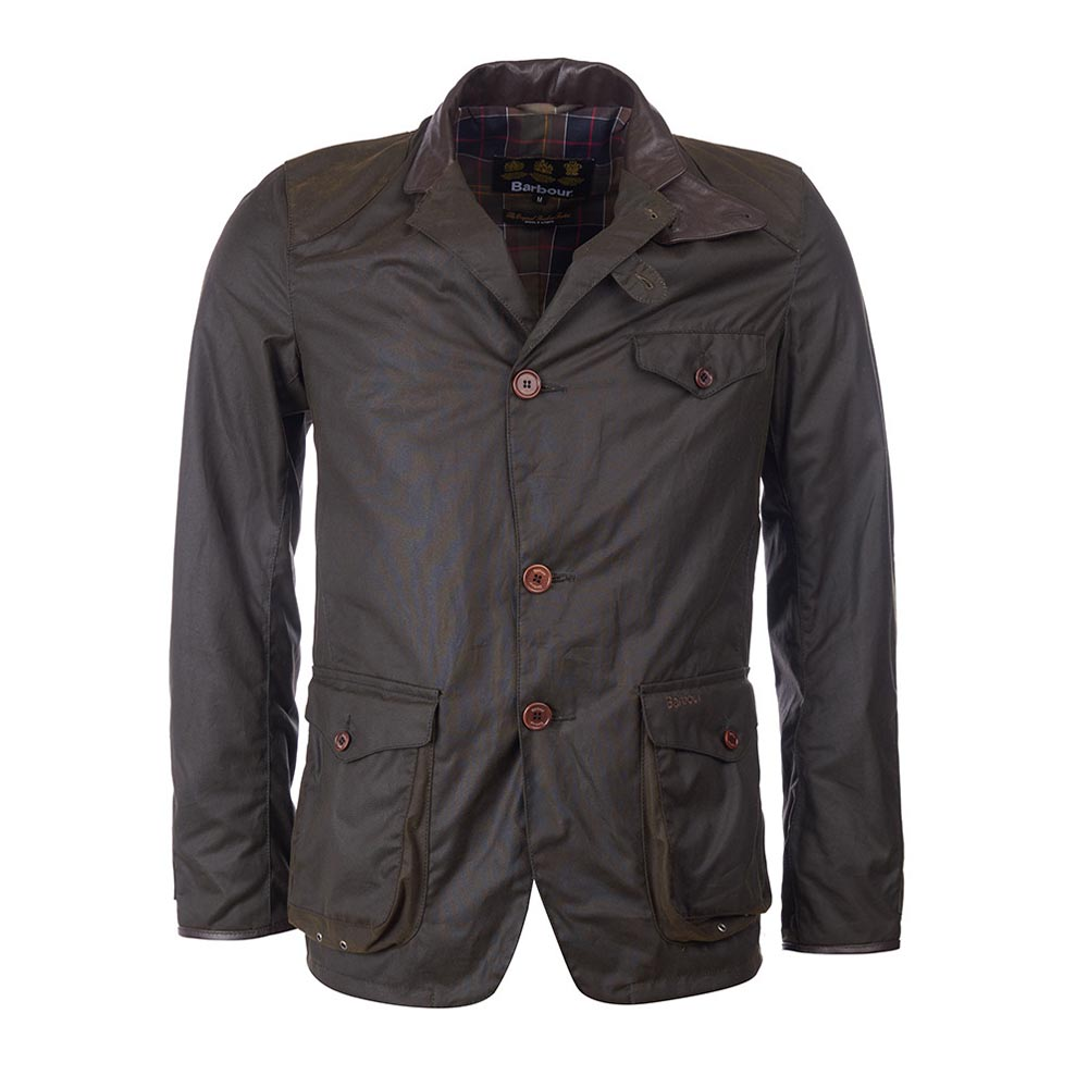 Barbour Beacon® Olive Sports Wax Jacket