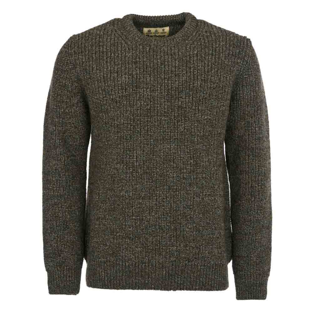 Barbour New Tyne Derby Tweed Crew Jumper