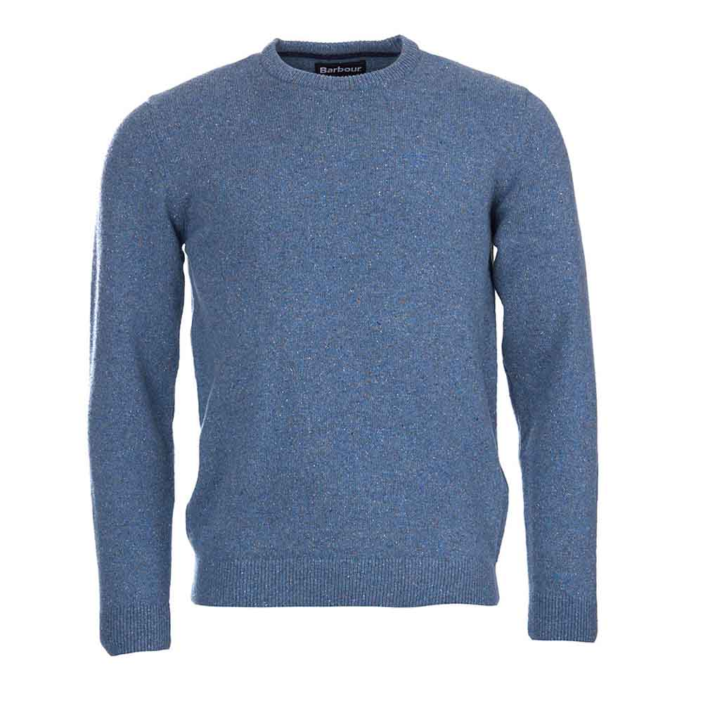Barbour Tisbury Blue Crew Neck Sweater