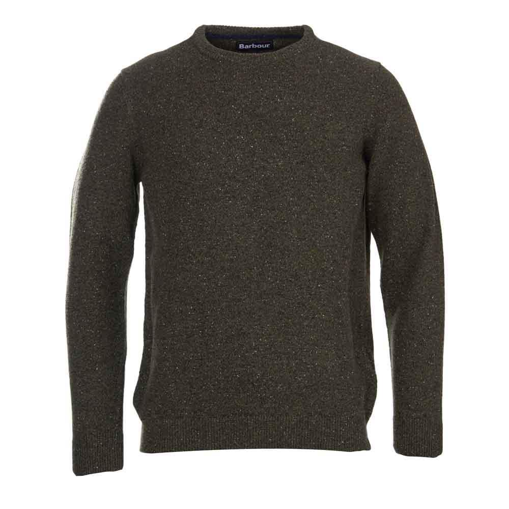 Barbour Tisbury Forest Crew Neck Sweater