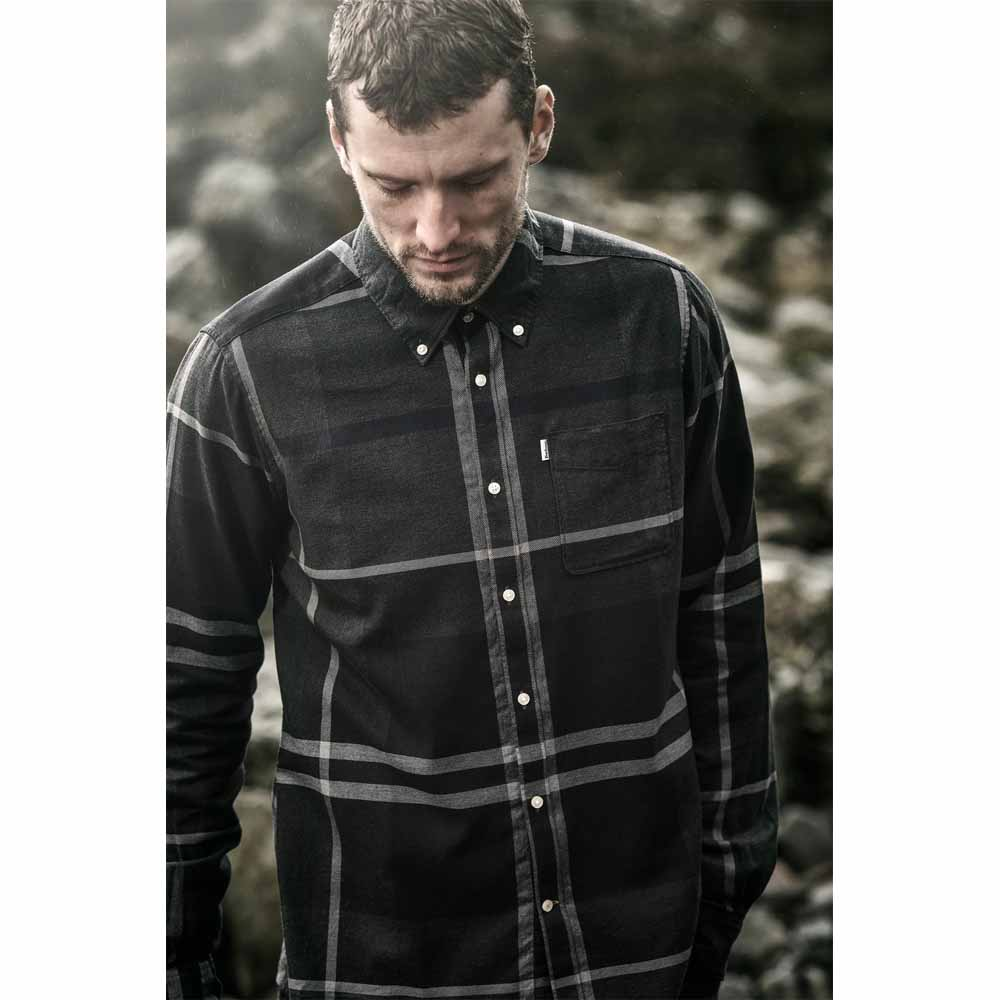 Barbour Dunoon Graphite Tailored Shirt