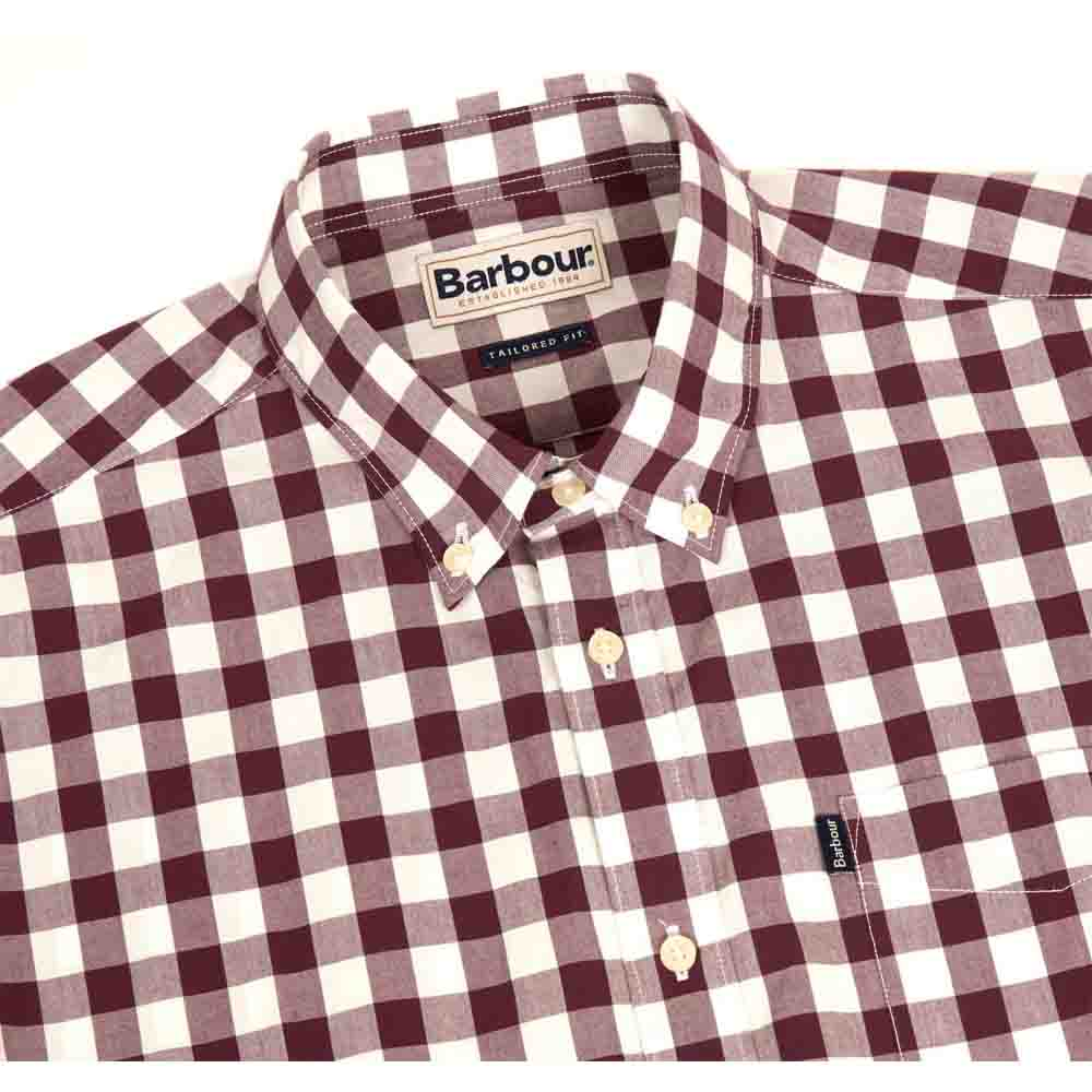 Barbour Endsleigh Port Tailored Shirt