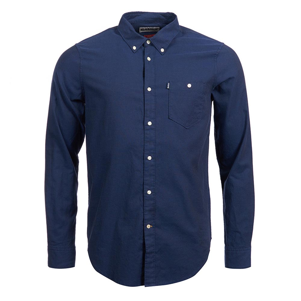 Barbour Ashwood Navy Tailored Shirt