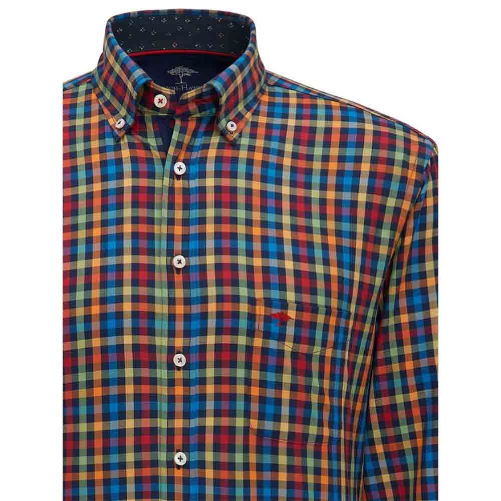 Fynch Hatton Maritime Multi Check Shirt