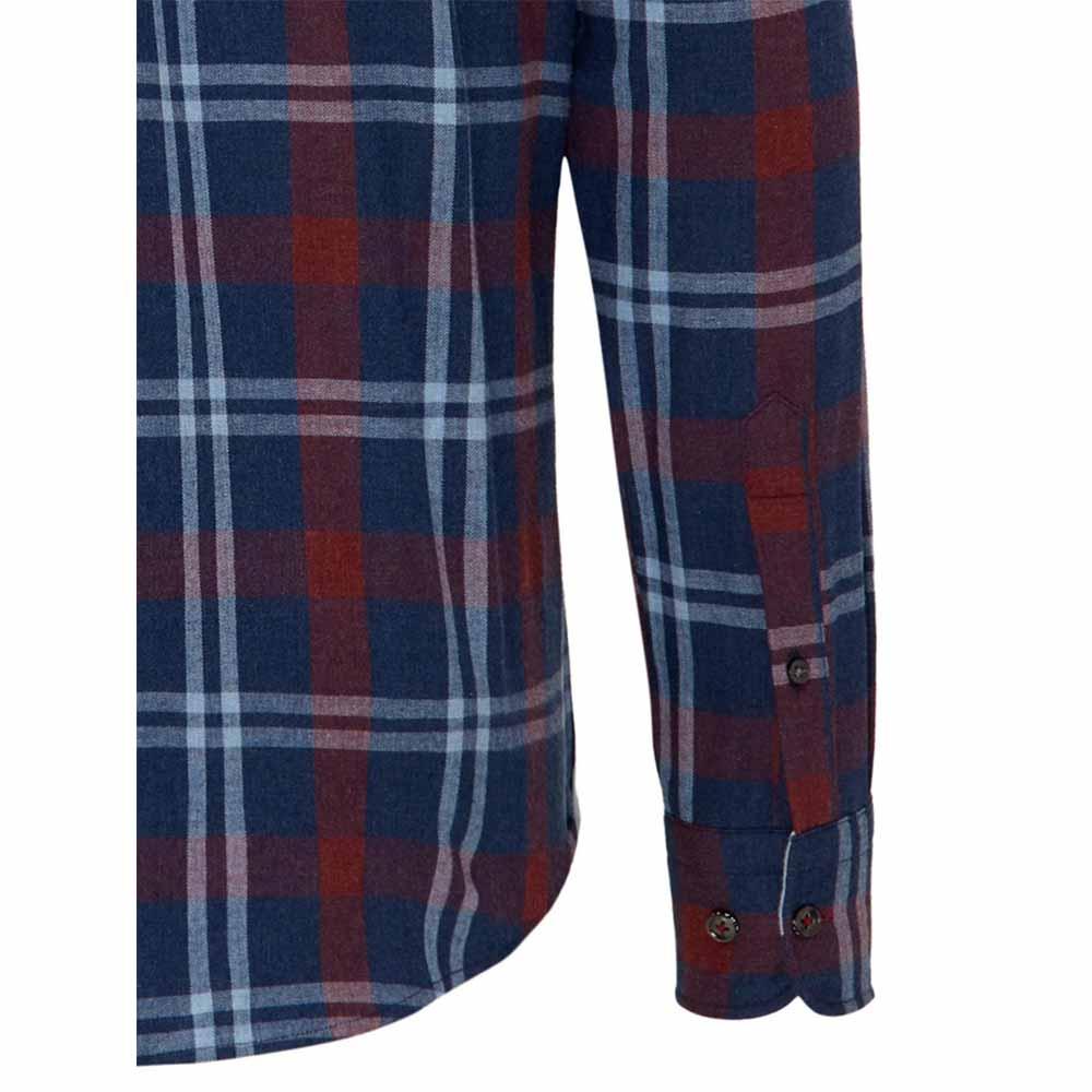 Fynch Hatton Check Pattern Shirt