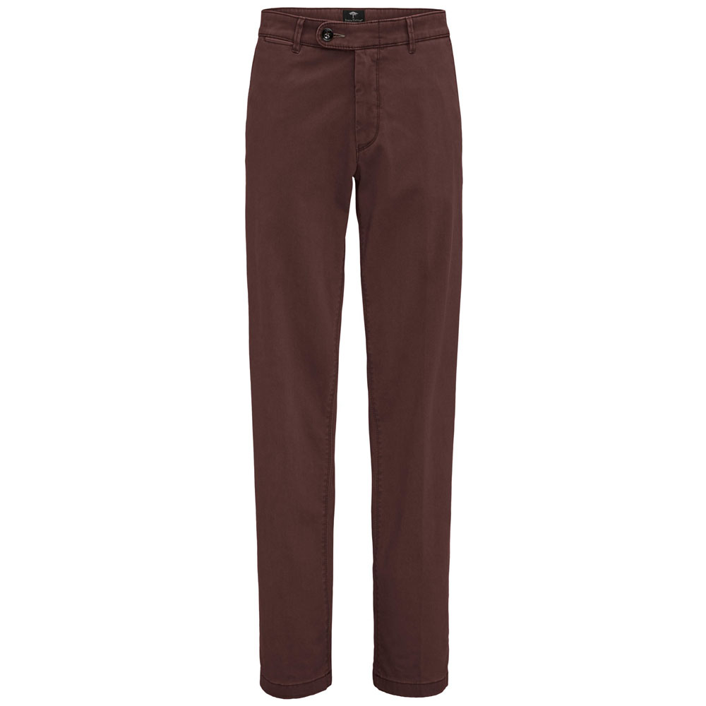 Fynch Hatton Cotton Oxblood Chino