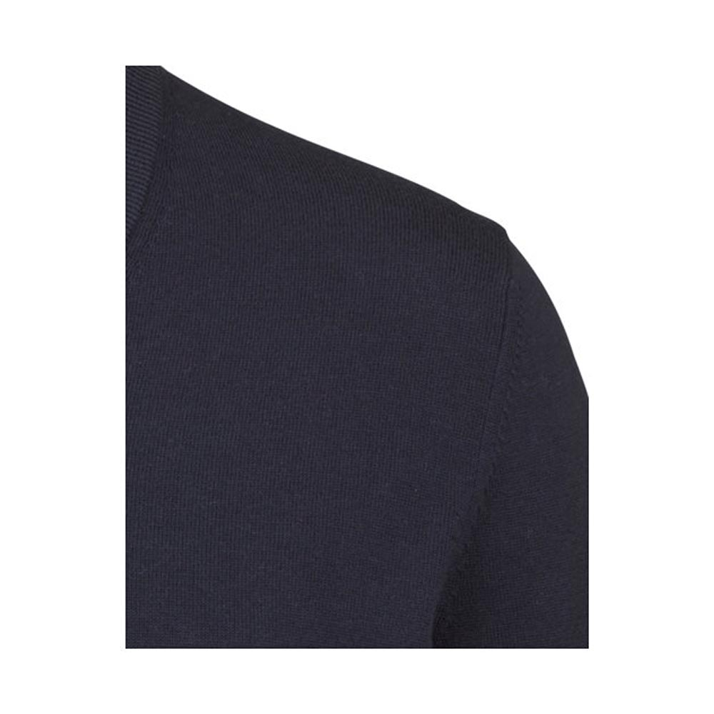 Olymp Midnight Blue V-Neck Knit