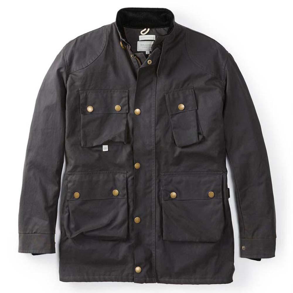 Peregrine Baxter Gunmetal Jacket