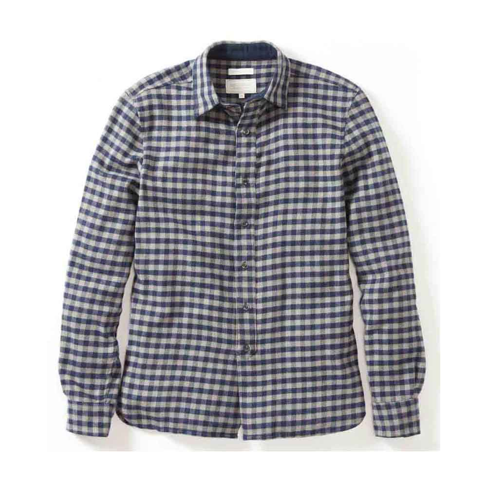 Peregrine Preston Grey Checked Shirt
