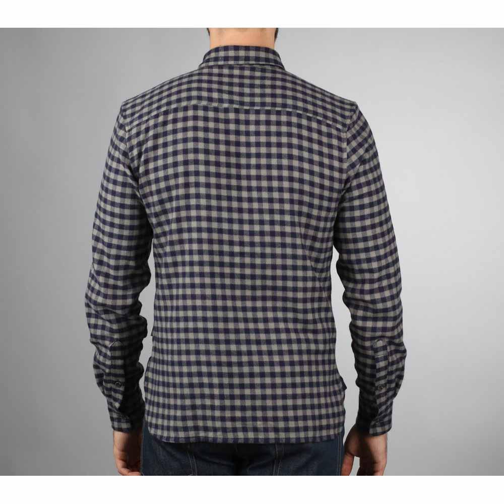Peregrine Preston Grey Checked Shirt