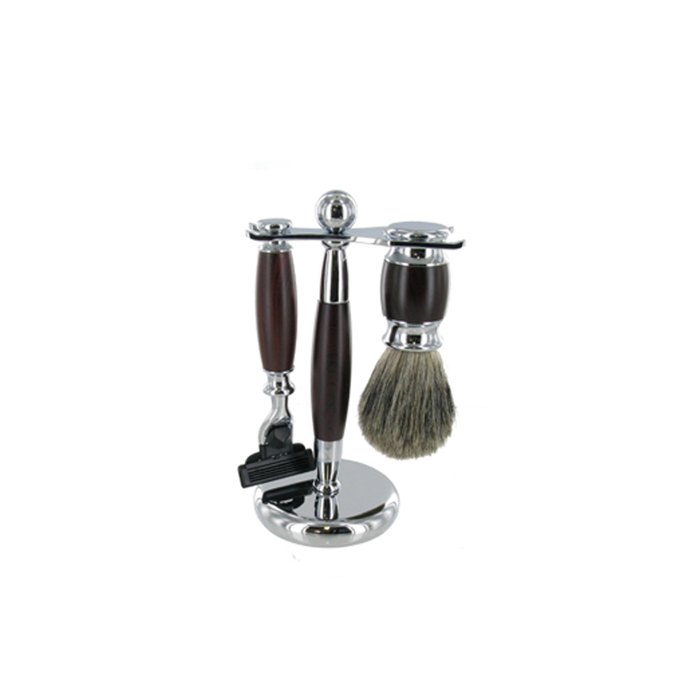 Sarome Heavy Shaving Set with Badger Brush