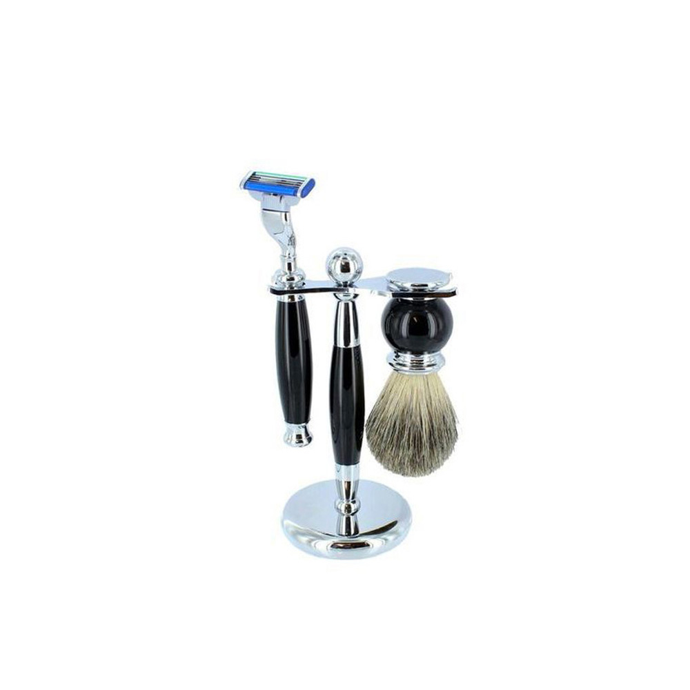 Sarome Shaving Set with Badger Brush
