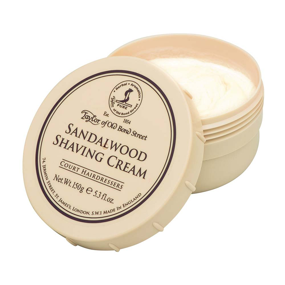 Taylor of Old Bond Street Sandalwood Shaving Cream