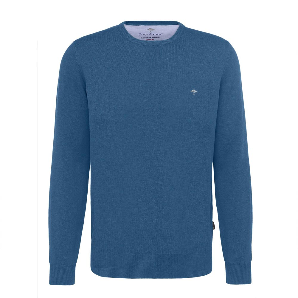 Fynch Hatton Fine Cotton Azure Knit