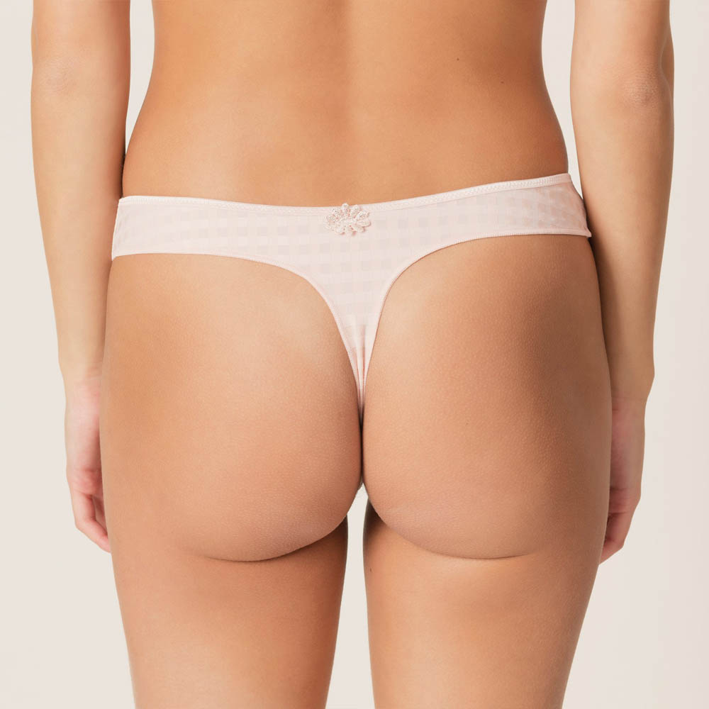 MARIE JO AVERO PEARLY PINK THONG