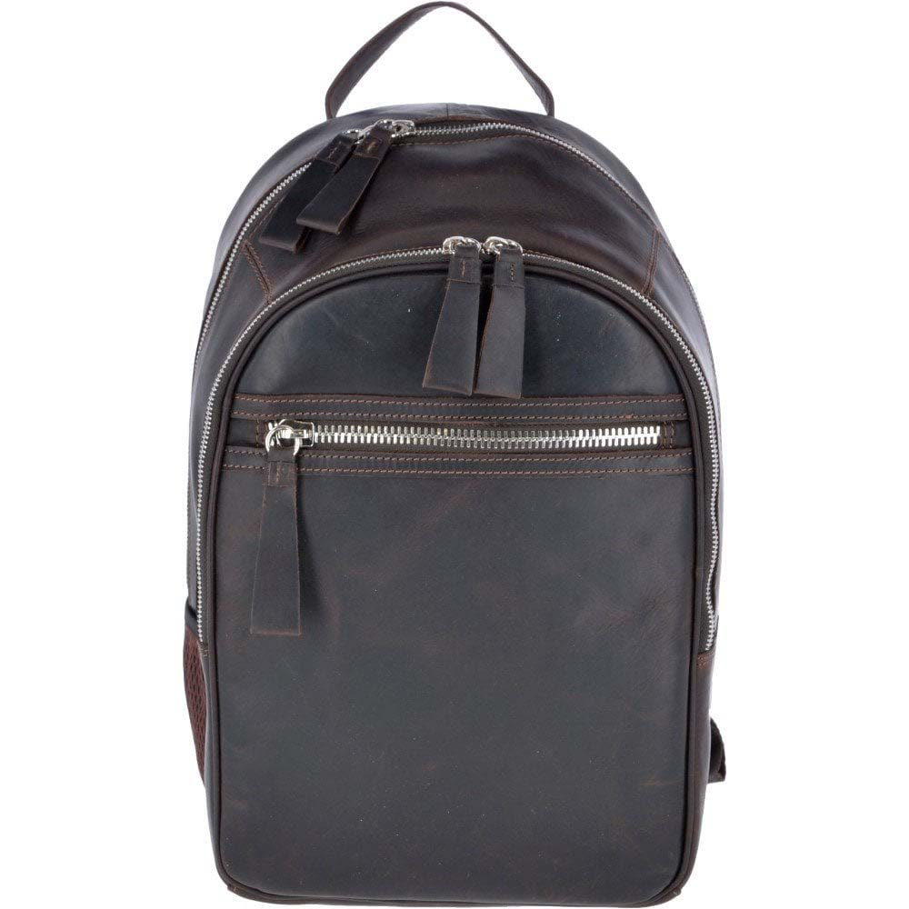 ASHWOOD 1663 Brown Leather Backpack