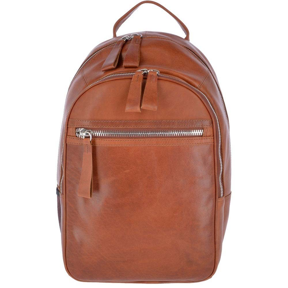 Ashwood 1663 Tan Leather Backpack
