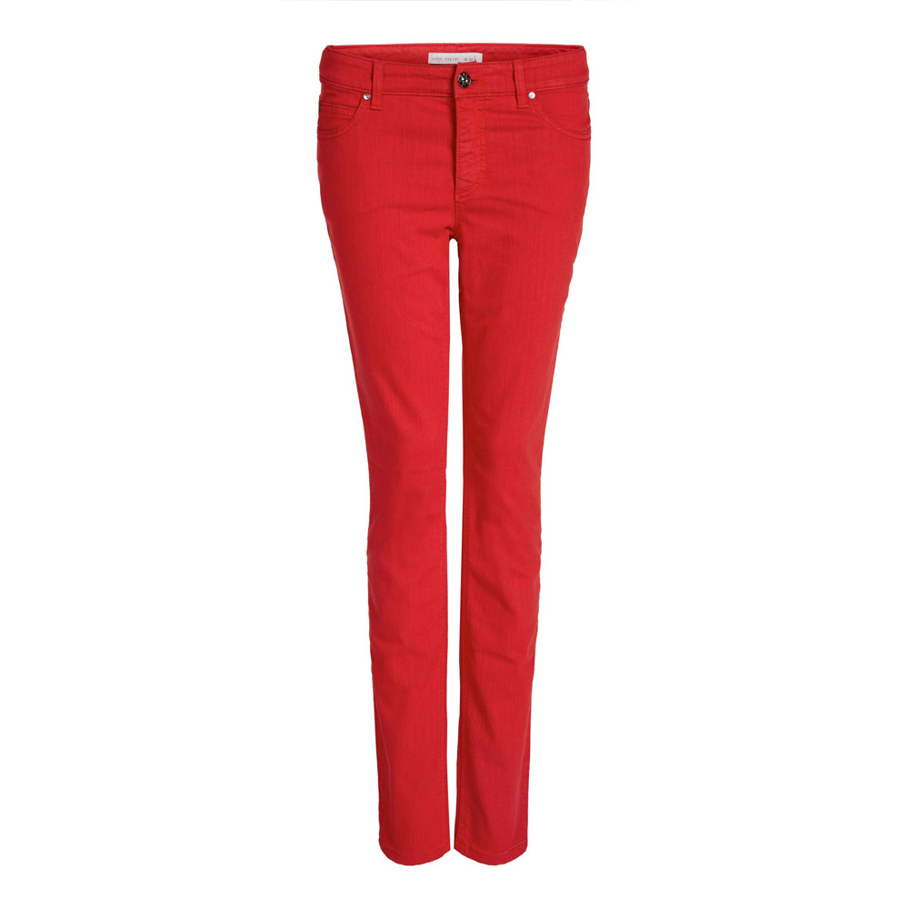 Oui Slim Fit Cherry Baxtor Leggings