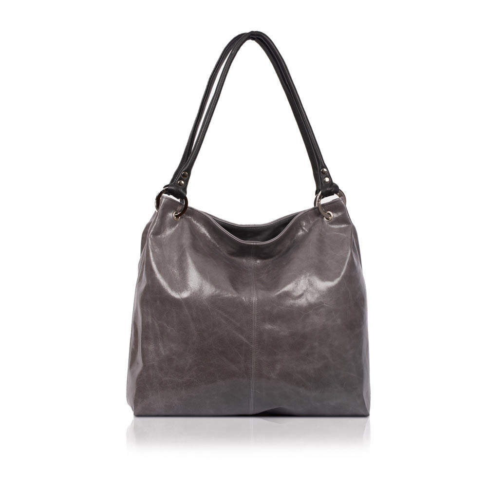 Owen Barry Coxley Granite Leather Bag