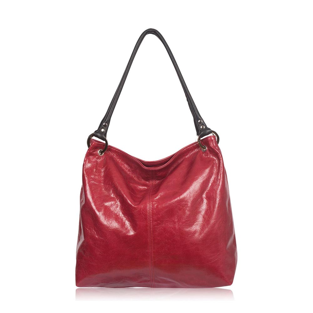 Owen Barry Coxley Red Leather Bag