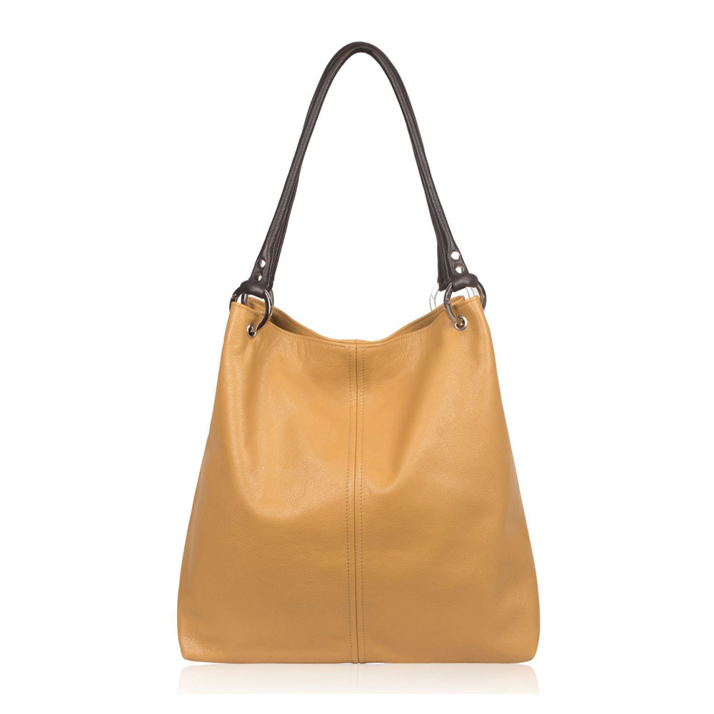 Owen Barry Dudley Butterscotch Leather Bag