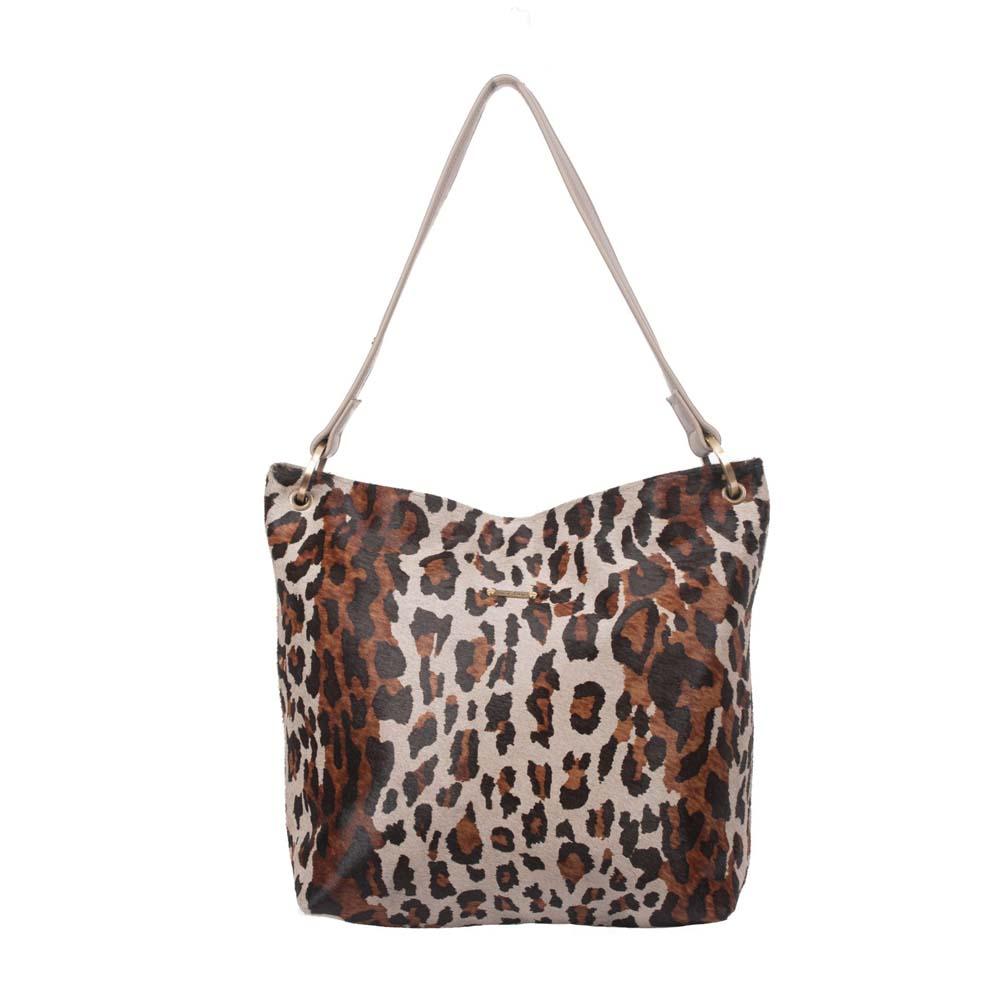 Owen Barry Hesta Leopard Bag