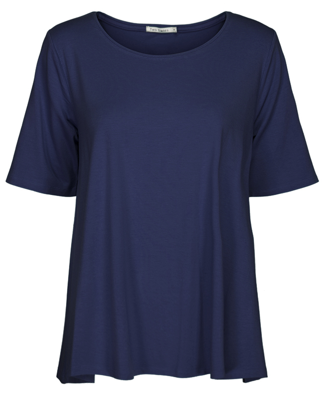 Two Danes Blidah t-shirt in navy